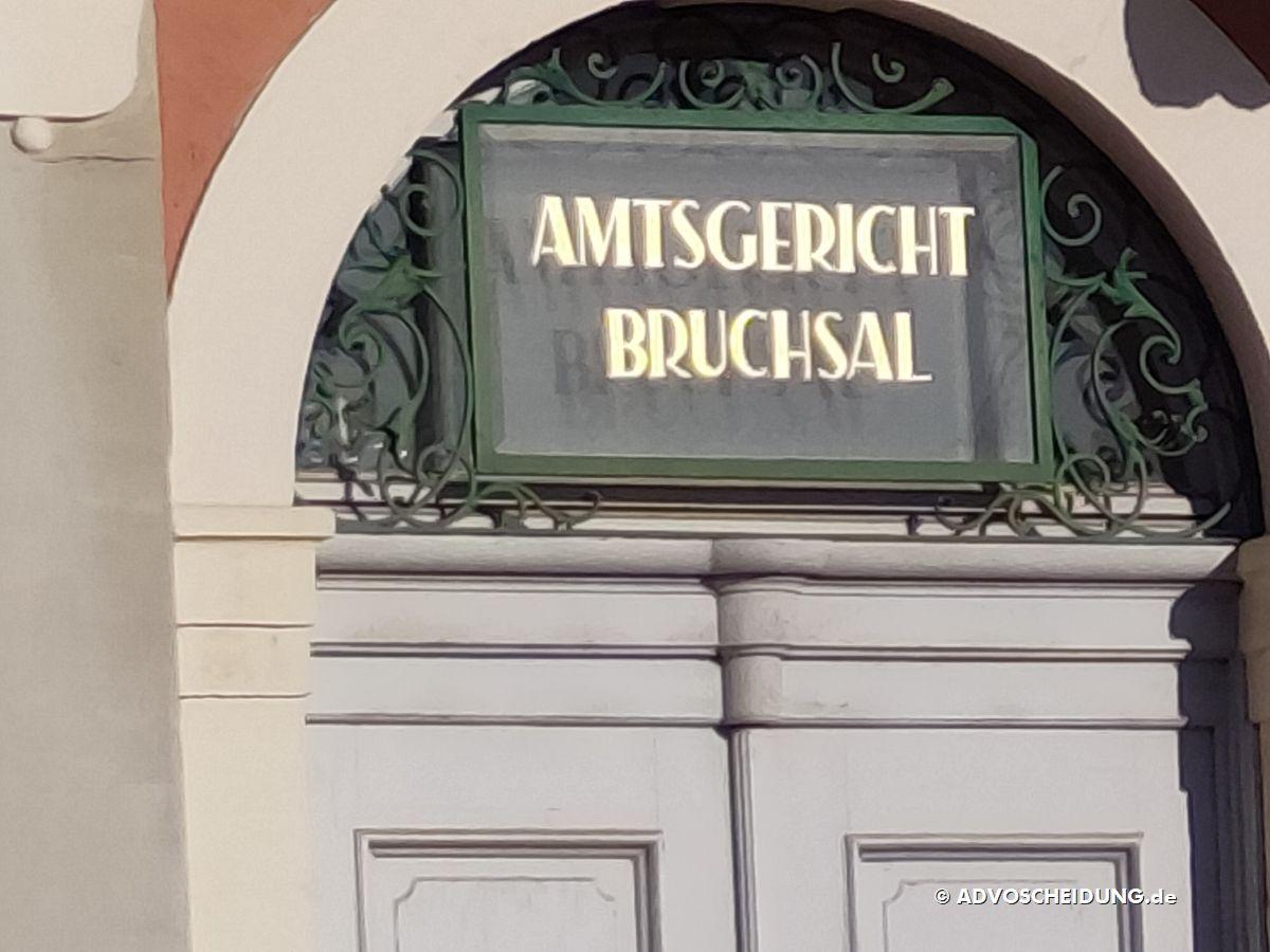 Amstgericht Bruchsal