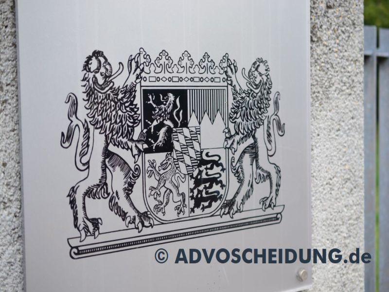 Amtsgericht - Familiengericht - Scheidung Bayern