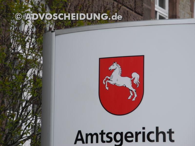 Amtsgericht - Familiengericht - Scheidung Niedersachen