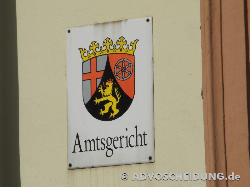 mtsgericht - Familiengericht - Scheidung Rheinland-Pfalz