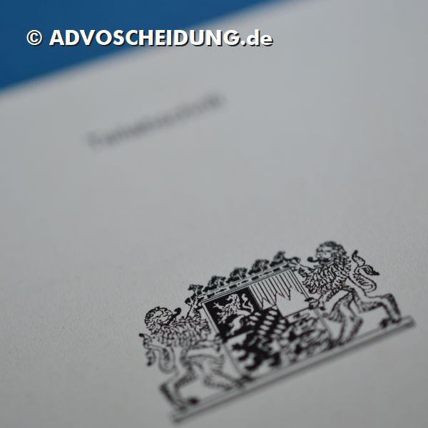 Scheidung online einreichen über das beA durch Anwalt in Nürnberg