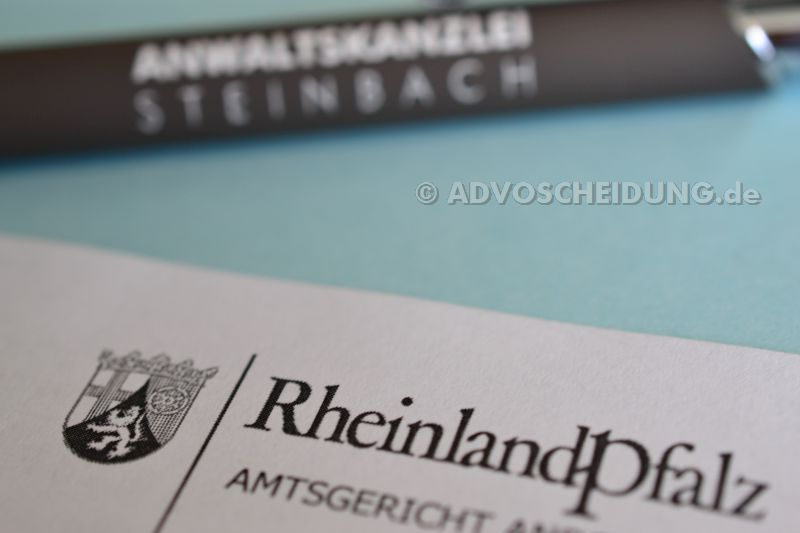 Scheidung in Rheinland-Pfalz