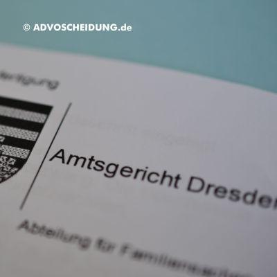 Über das beA Scheidung in Dresden online einreichen