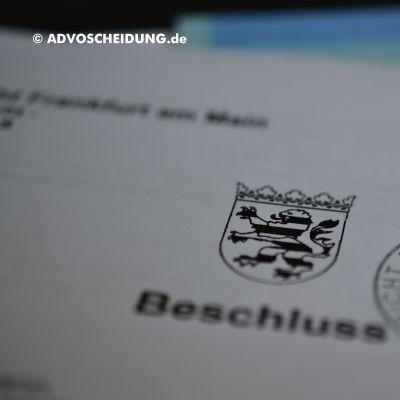 Scheidung online einreichen durch Scheidungsanwalt über beA in Frankfurt/M.