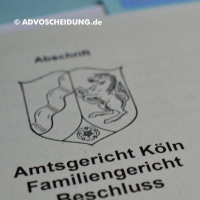 Scheidung online einreichen über beA in Köln