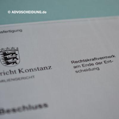 Scheidung online einreichen über das beA in Konstanz