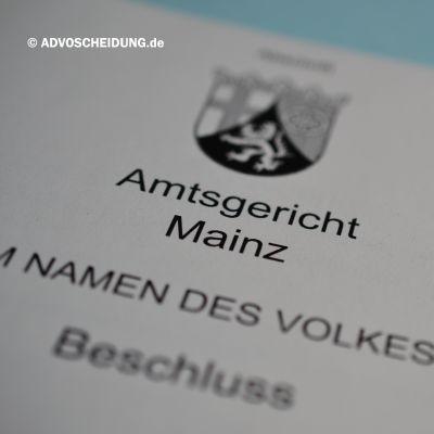 Scheidung online einreichen über das beA in Mainz