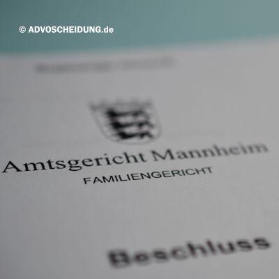 Scheidung online einreichen über das beA in Mannheim