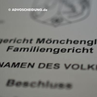 Scheidung online einreichen über beA in Mönchengladbach
