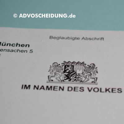 Scheidung online einreichen über beA in München