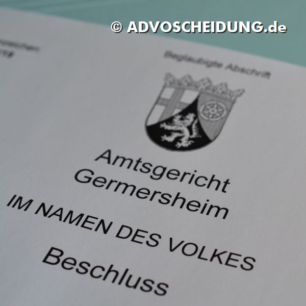 Scheidung online einreichen über das beA in Germersheim