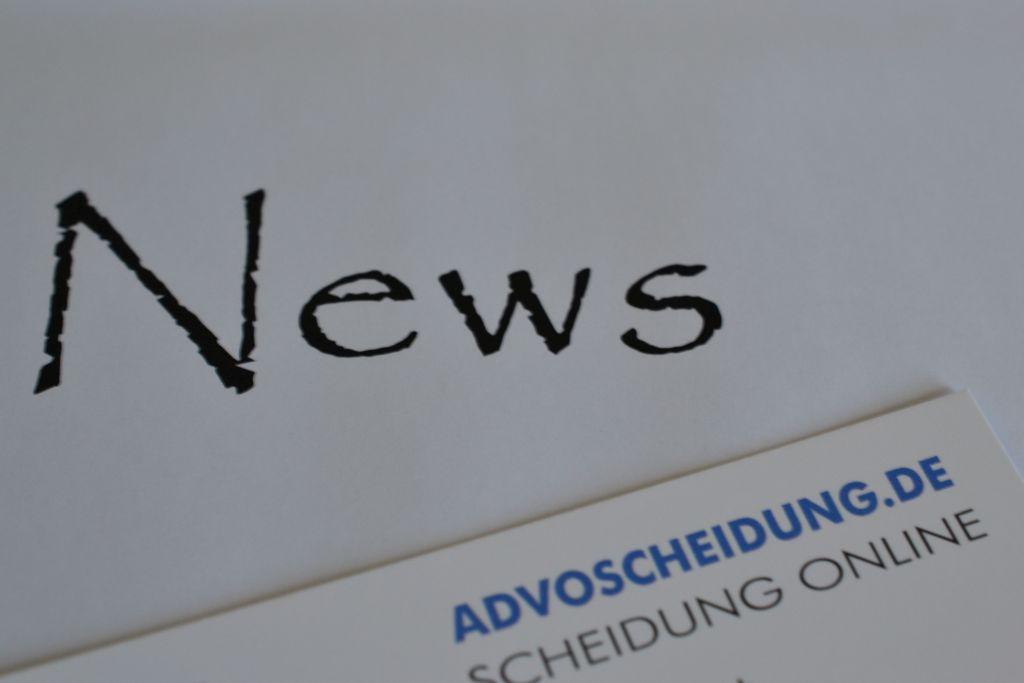 Meldungen und Nachrichten zum Thema Scheidung
