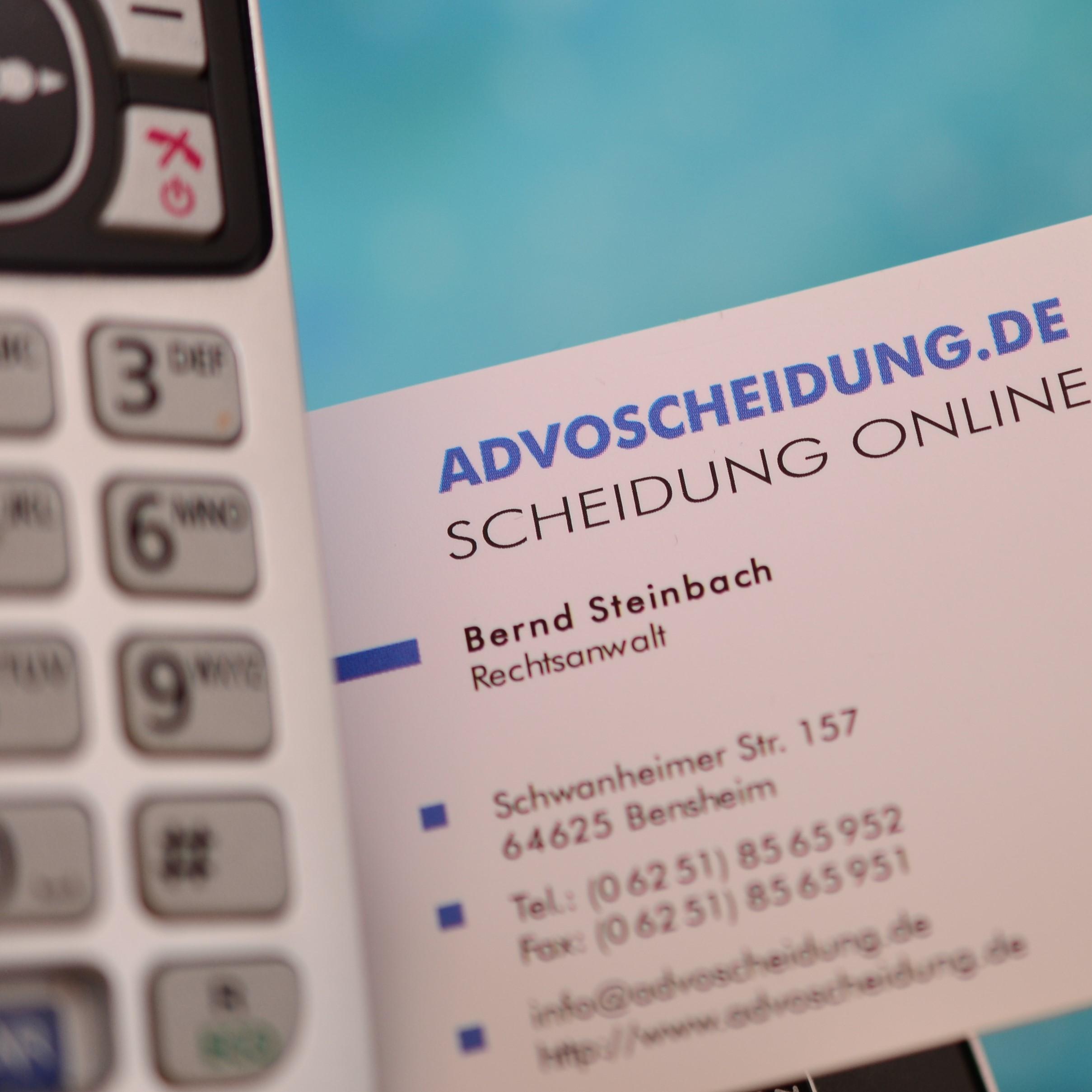 Scheidung online einreichen - Rechtsanwalt informiert Sie online und per Telefon zum Ablauf und den Kosten der Scheidung