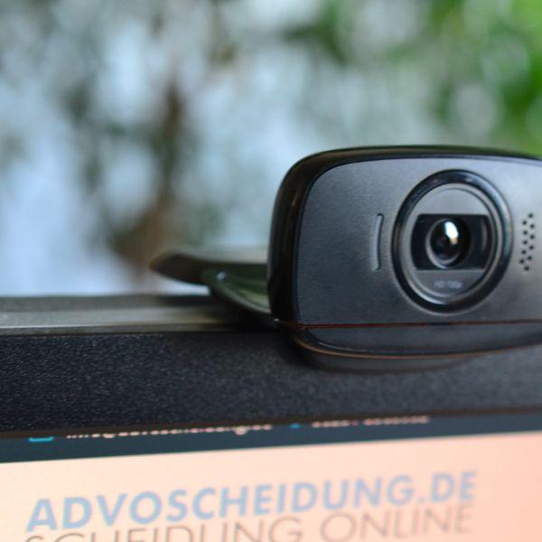 Scheidung per Videokonferenz beim Familiengericht